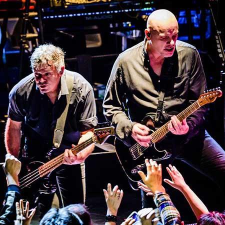 Concert The Stranglers sur la scène de la Carrière à Nantes