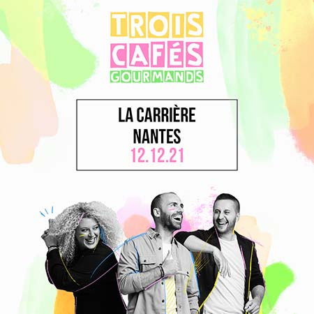 Concert 3 cafés gourmands La Carrière Events Nantes