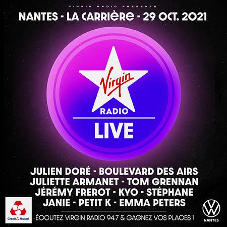 Virgin Radio Live Nantes à La Carrière