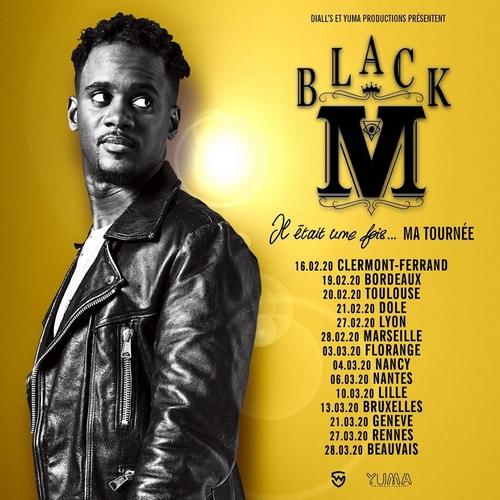 Black M en concert à La Carrière, salle de spectacle à St Herblain