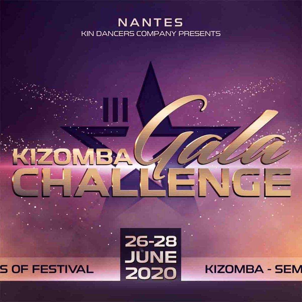 Kizomba Gala Challenge Festival organisé à La Carrière St Herblain en juin 2020
