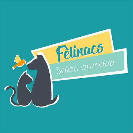 Logo felinacs salon animalier à La Carrière St Herblain